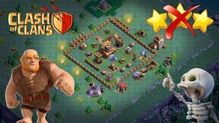clash of clans bh4 defence base | coc bh4 defence base | builder hall 4