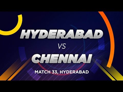 Cricbuzz LIVE: Match 33, Hyderabad v Chennai, Pre-match show