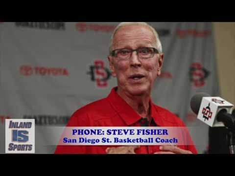 BASKETBALL: San Diego State Head Coach Steve Fisher Interview