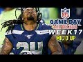 """NFL Week 17 Mic'd Up, """"Just for the record that was the slowest spin ever"""""""