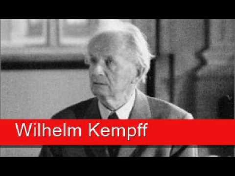 Wilhelm Kempff: Bhrams - Rhapsody No. 2 in G minor, 'Molto passionato, ma non troppo allegro'