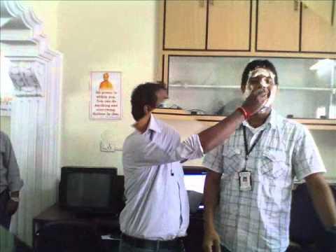 Rama Krishna (SEO Analyst ) Birth day at Spark Infosys - Web Development Company Hyderabad