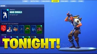 *NEW* 18 AUGUST ITEM SHOP 'LEAKED' (Hand Signals & Hot Stuff Emotes)? Fortnite Battle Royale