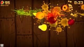 Игра во FRUIT NINJA с Matt-D-Evill