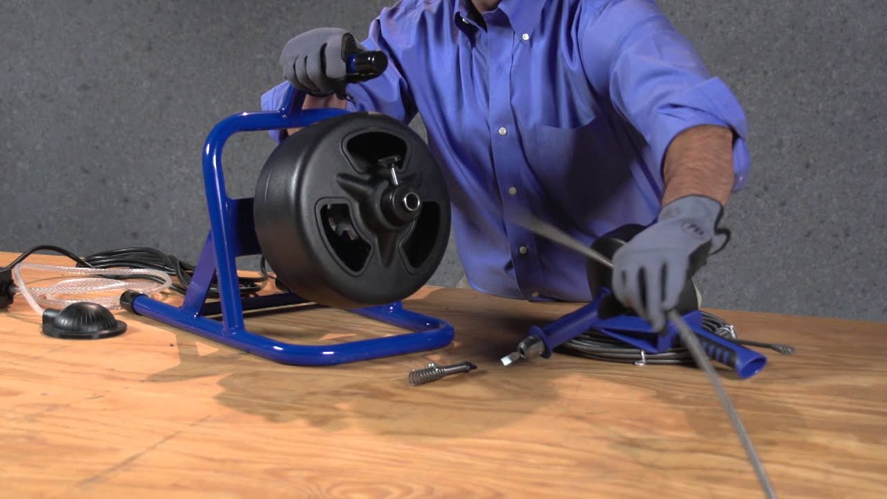 How to Replace a Cable on a Cobra Drum Auger - YouTube