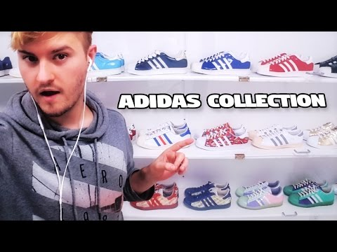 My Massive Adidas Sneakers Collection (STYLE VLOG)