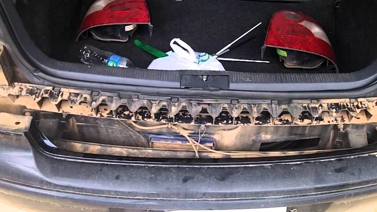Remoção parachoque traseiro VW Polo - YouTube