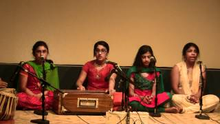 Alankar School of Indian Classical Music - Jun 10th 2012 Concert - Avat Ghar Aaye - Raag Tilak Kamod