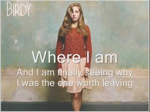 Birdy - The district sleeps alone tonight [lyrics]