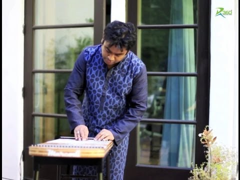 A.R.Rahman playing the Harpejji