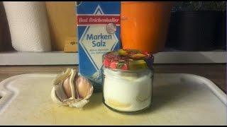 Knoblauch-Salz  Selber Herstellen