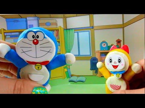 Doraemon y Dorami clay buddies en español Videos de juguetes