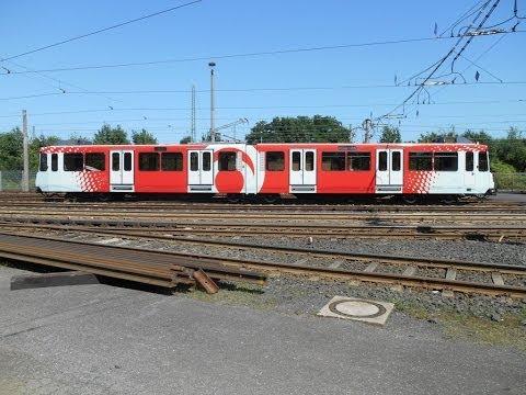 Zweiterstellte Bahn Bonn - Wagen 7456 und 7578