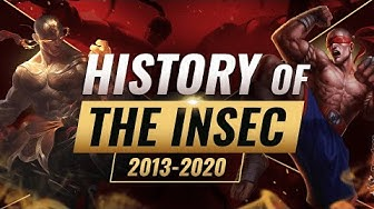 League's MOST LEGENDARY Plays: The History of The Insec - League of Legends