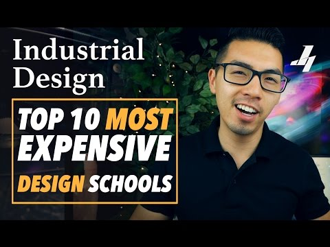 Top 10 Most EXPENSIVE Design Schools!