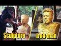 Поделки - I love you 3000 - Деревянные поделки - скульптура Iron Man Robert Downey