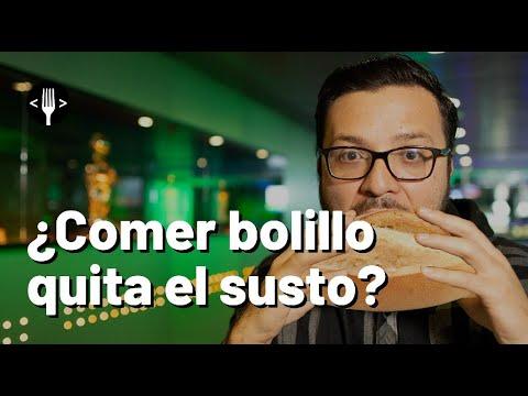 ¿Comer Bolillo quita el susto?