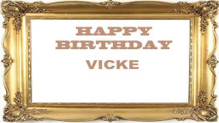 Vicke   Birthday Postcards & Postales - Happy Birthday