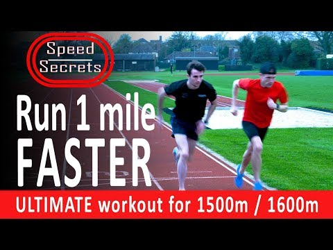 Run 1 mile FASTER! Training workout that boosts SPEED and ENDURANCE