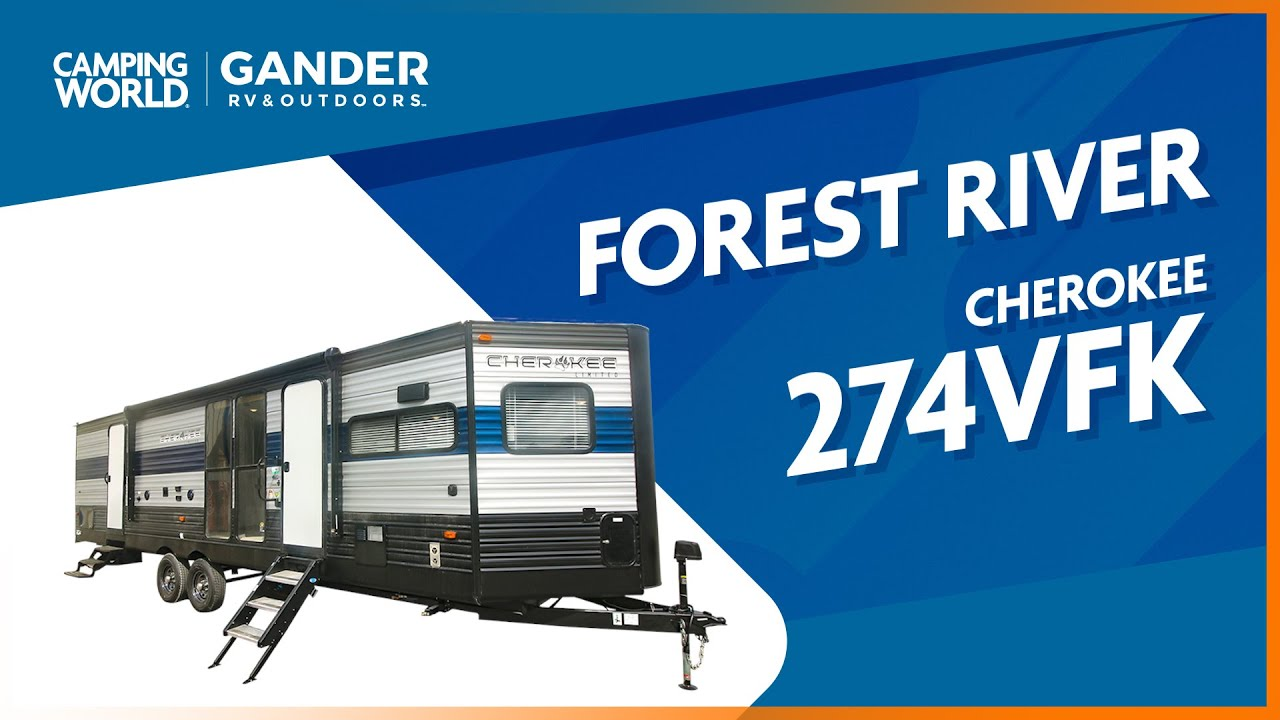2021 Forest River Cherokee 274VFK | Travel Trailer - RV Review: Camping World