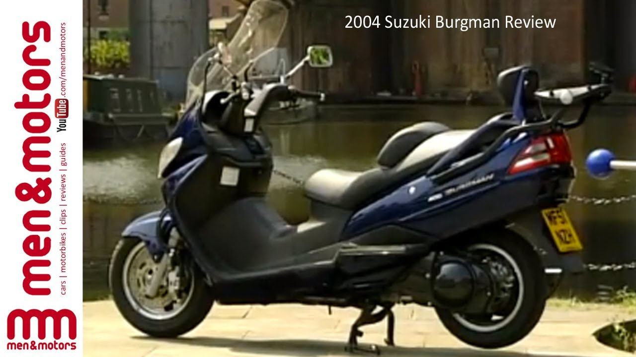 2004 suzuki burgman review - youtube