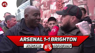 Arsenal 1-1 Brighton | There's Too Many Bottle Jobs In This Team!! (DT Rant)