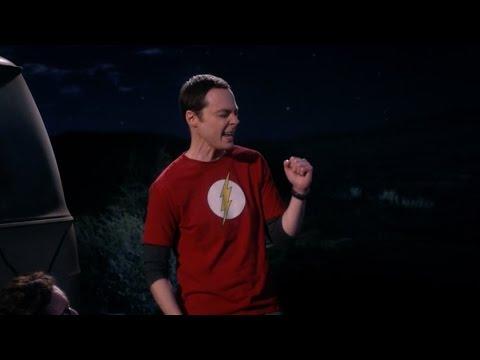 """Sheldon sings """"We will rock you"""" - The big bang theory"""