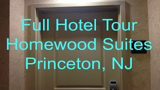 first full hotel tour homewood suites by hilton princeton nj