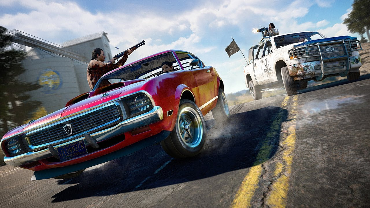 Far Cry 5: Montana is a Great Setting for Ridiculous Action