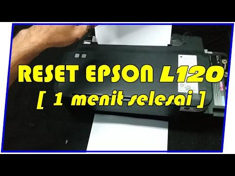 Cara Reset Printer Epson, Lampu Kertas dan Lampu Tinta Kedip Bergantian.