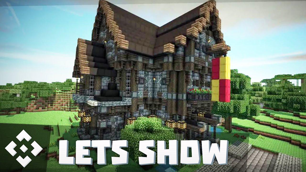 Minecraft Spielen Deutsch Minecraft Haus Bauen Ps Bild - Minecraft ps4 hauser bauen