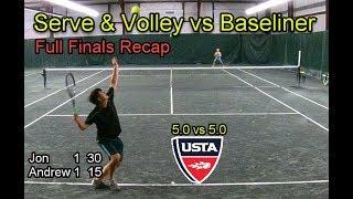 MTC Full Finals Recap Tennis - Andrew vs Jon Ramthun