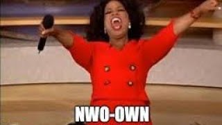 OWN=NWO ~ Oprah Sold Out To The NWO Scamdemic!! *Shaking My Head Productions*