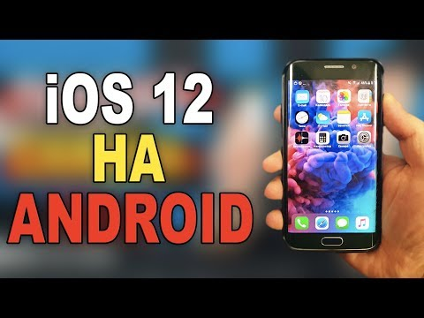 IOS на Андроид 2020/Как на Android установить IOS/Прошивка IOS от Айфон для Андроид?