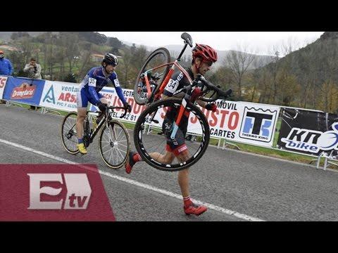 La ética de un ciclista español conmueve al mundo/ Vianey Esquinca