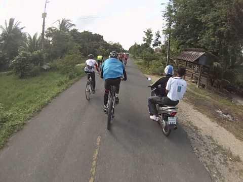 """5/6 ปั่นรอบเลสาบสงขลา 2014 """" ตอนจักรยานเพื่อน้อง ปีที่2 วันที่ 12 มกราคม 2557"""