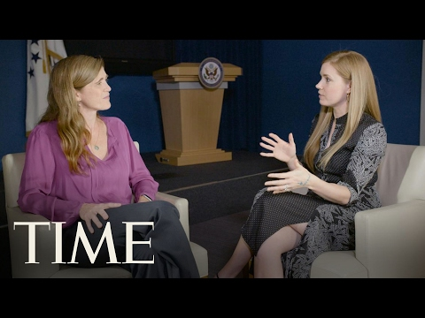 Amy Adams & Samantha Power On Art And Diplomacy | The Influencers | TIME