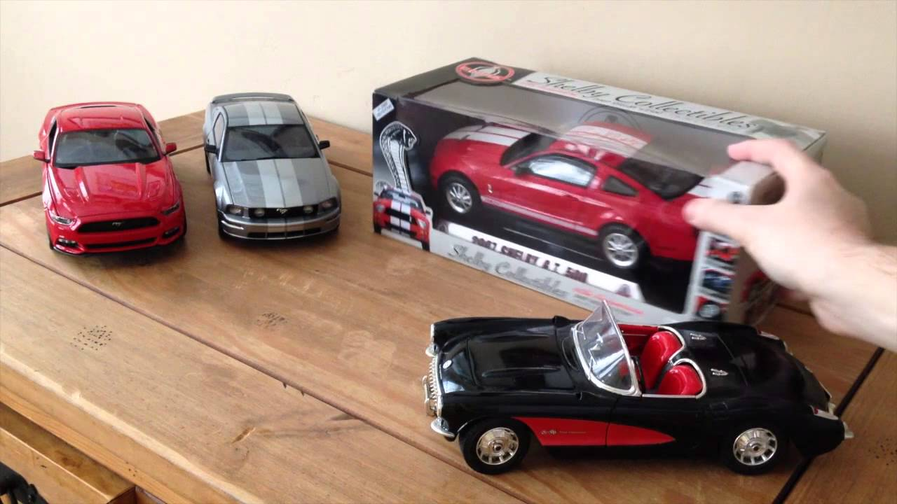1:18 Diecast Model Car Collection - Part 2 | The Model ...