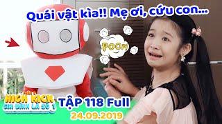 Gia đình là số 1 Phần 2| Tập 118 Full: Lam Chi sợ hãi xanh mặt vì QUÁI VẬT Robot xuất hiện trong nhà