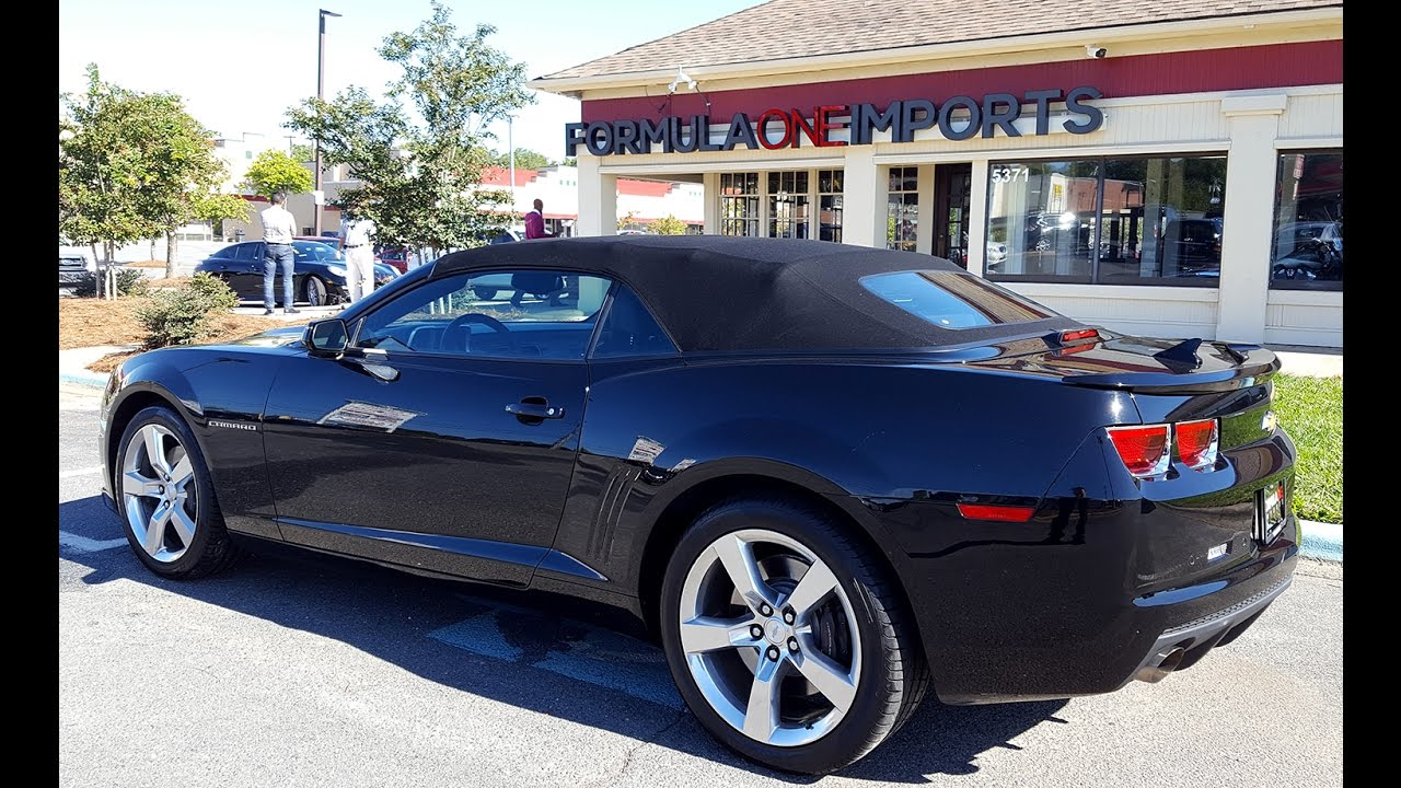 2011 Chevrolet Camaro Convertible 2SS - For Sale - Formula One ...
