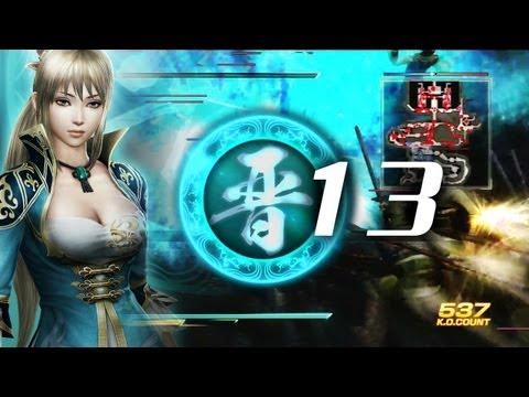 真・三國無双7 晋伝13Fin 王元姫「成都の戦い」修羅 - Wang Yuanji Jin Story Gameplay - Dynasty Warriors 8