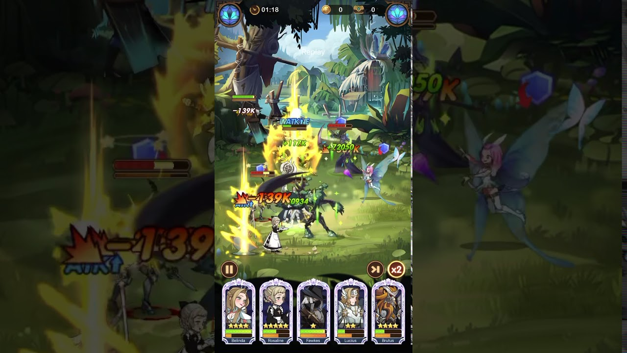 AFK Arena Stage 27-16 2nd try 🤷🏻♂️ - YouTube