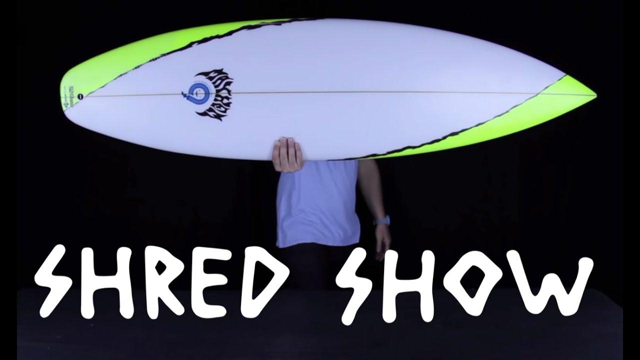 Shred Show: Taj Burrow's board, free Sanuks and Tide Watches