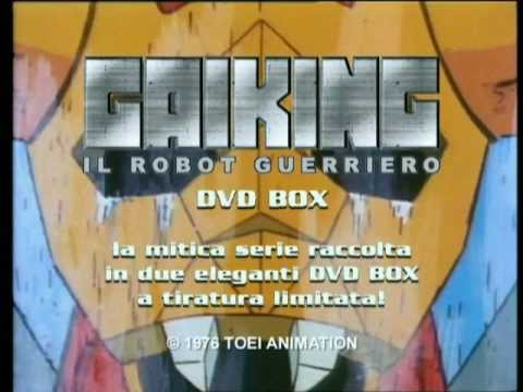 Trailer Gaiking il robot guerriero