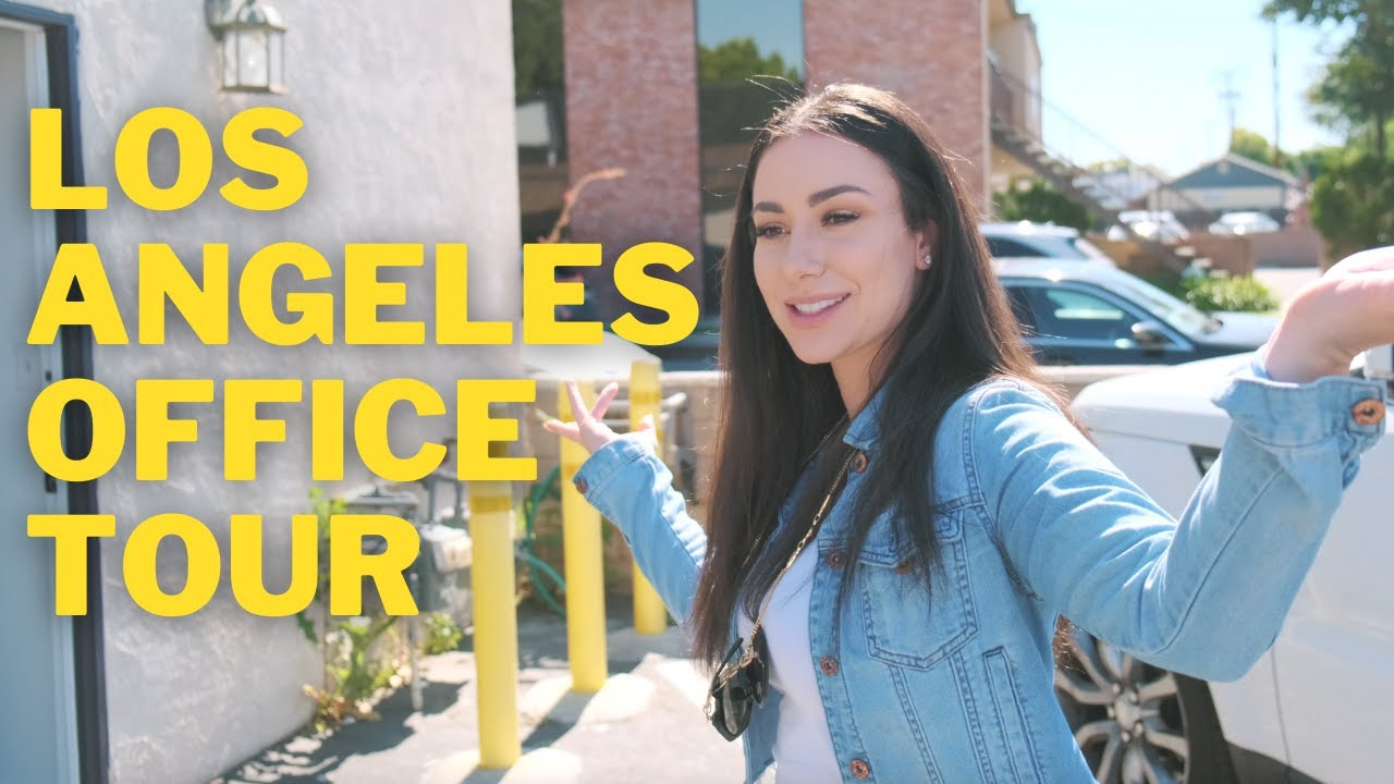LOS ANGELES LASH BUSINESS TOUR | Eyelash Extension Company Warehouse & Office Space | BEFORE