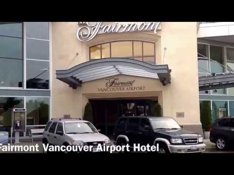 Tour & Reviews Of The Fairmont Vancouver Airport Hotel Tour And Reviews