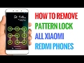How to Remove Pattern Lock in All Xiaomi Redmi Phones | Xiaomi Hard Rese...