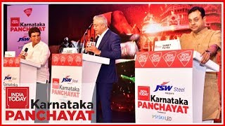 Sambit Patra Vs Raj Babbar : The Big Karnataka Face Off | India Today Karnataka Panchayat