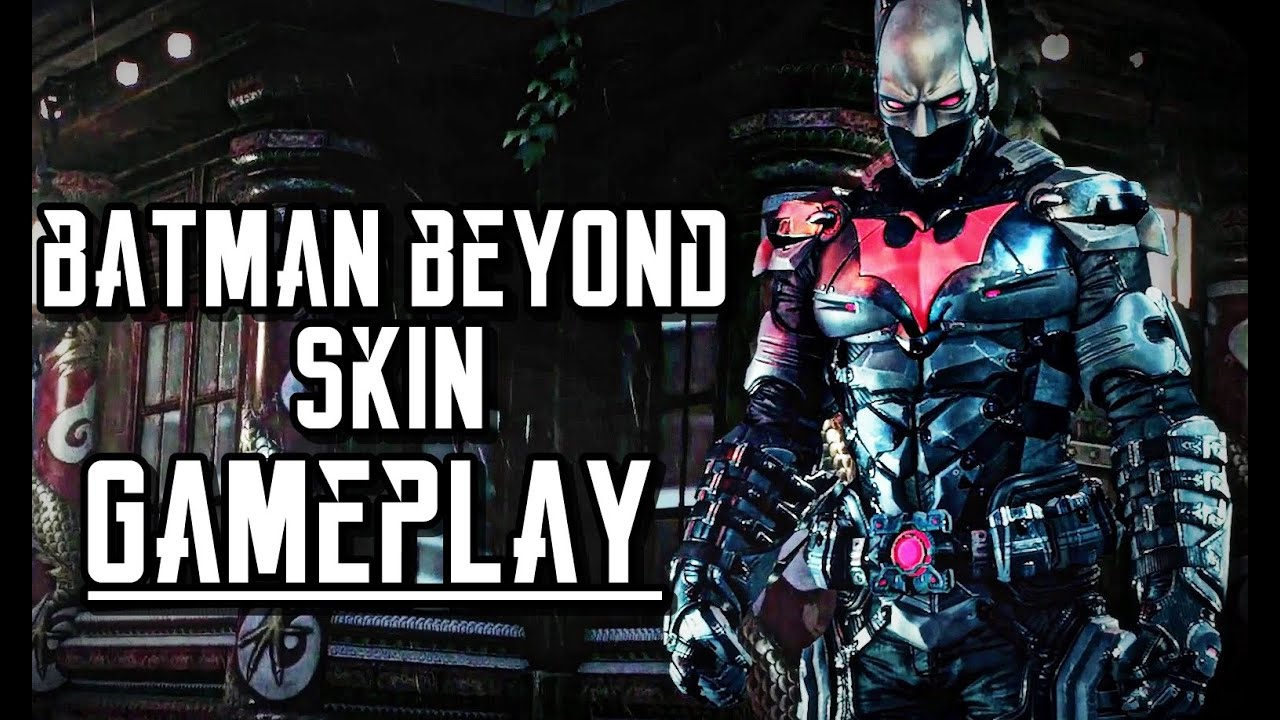 Batman Arkham Knight Batman Beyond 2039 Skin Outfit Gameplay Ps4