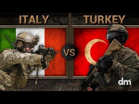 Italy Vs Turkey - Army/Military Power Comparison 2018